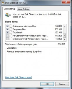 clear hard drive space