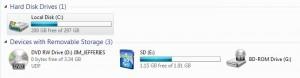 free hard disk space