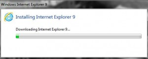 installing ie9