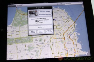 search for a city on ipad 2 google maps