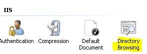 iis directory browsing