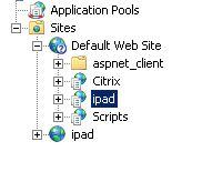 iis directory listing