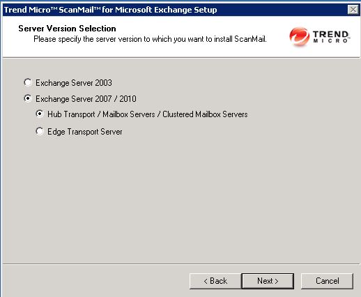 install trend exchange version