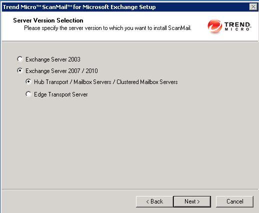 install trend exchange version