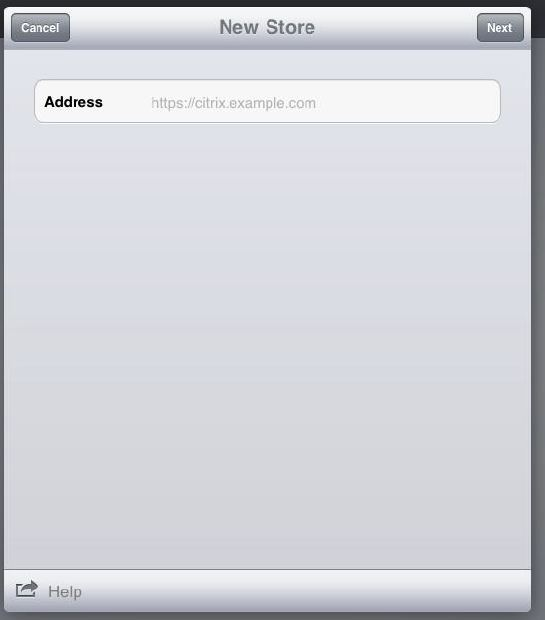 Configure Citrix/Xen App For The IPad/IPhone And Setup The