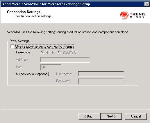 scanmail proxy