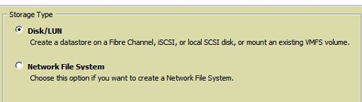 Connect nfs storage to vmware