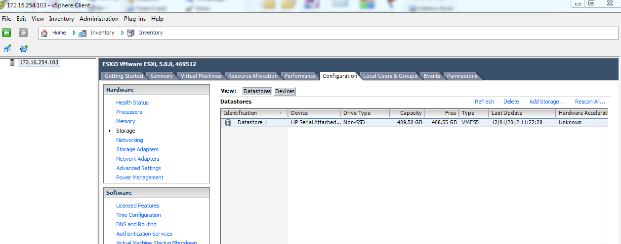 Step By Step Guide To Creating Virtual Machine in VSphere 5