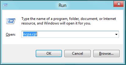access network settings windows 8