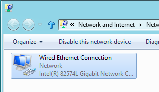 network settings windows 8