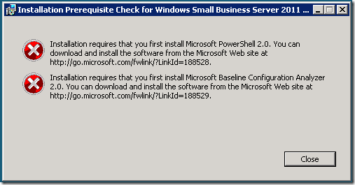 migrate from server 2003 to sbs 2011