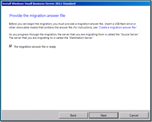 SBS 2011 migration from server 2003