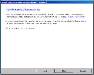 SBS 2011 migration from server 2003