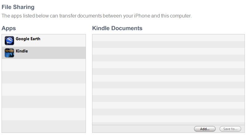 Add books to the ipad kindle app