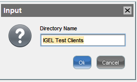 IGEL UMS Directory