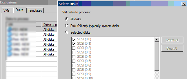 Veeam-disk-exclusions