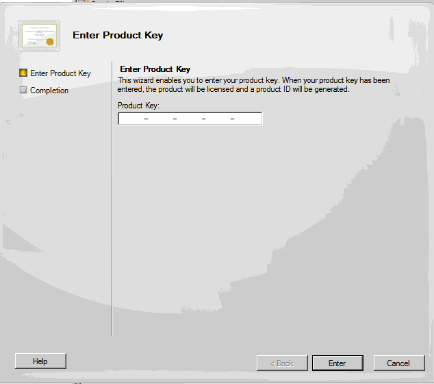 Exchange 2010 product key install