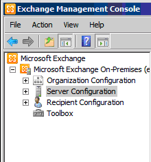 how to install the exchange 2010 license