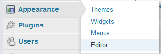 edit files in wordpress