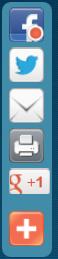set background of addthis floating widget