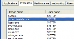 Faulting application name TrustedInstaller.exe version: 6.1 Server 2008r2 and Windows 7