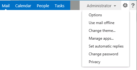 Change exchange 2013 OWA settings