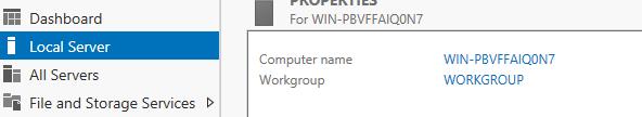 change computer name server 2012