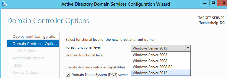 Install Server 2012 and Create a New Server 2012 Domain Guide