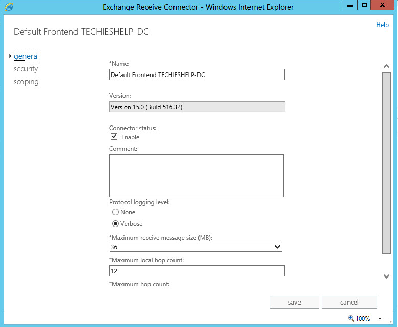 How To Setup Exchange 2013 /2016 Receive Connector