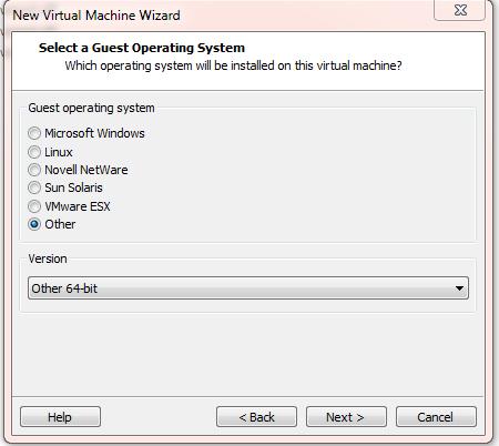 vmwware workstation other 64bit