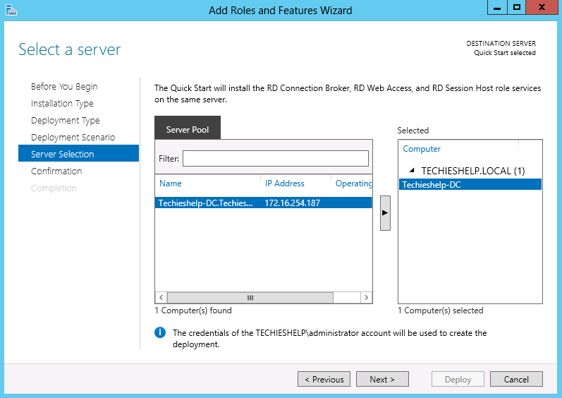 Install And Configure Remote Desktop Services On Server 2012 Guide