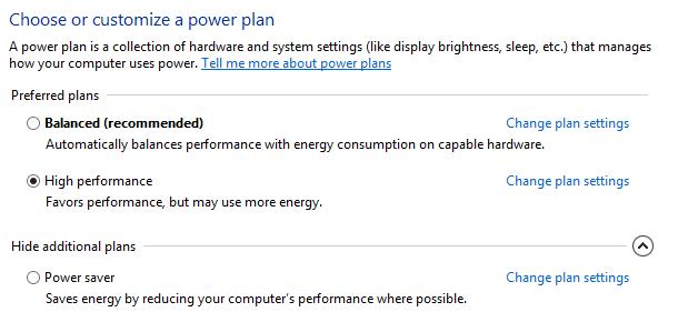 Windows 8 will no hibernate