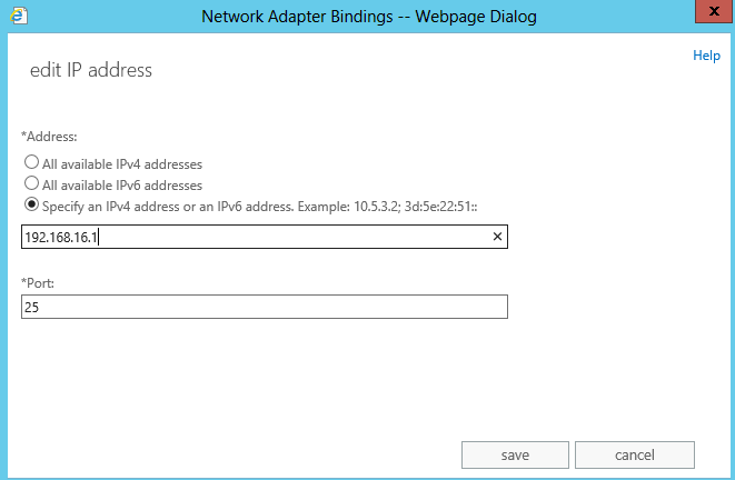 exchange 2013 dns bindings