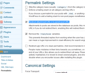 wordpress disable attachment pages