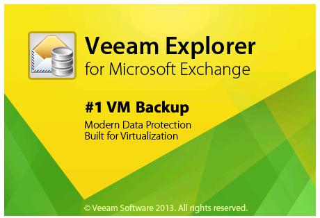 Veeam Exchange Explorer