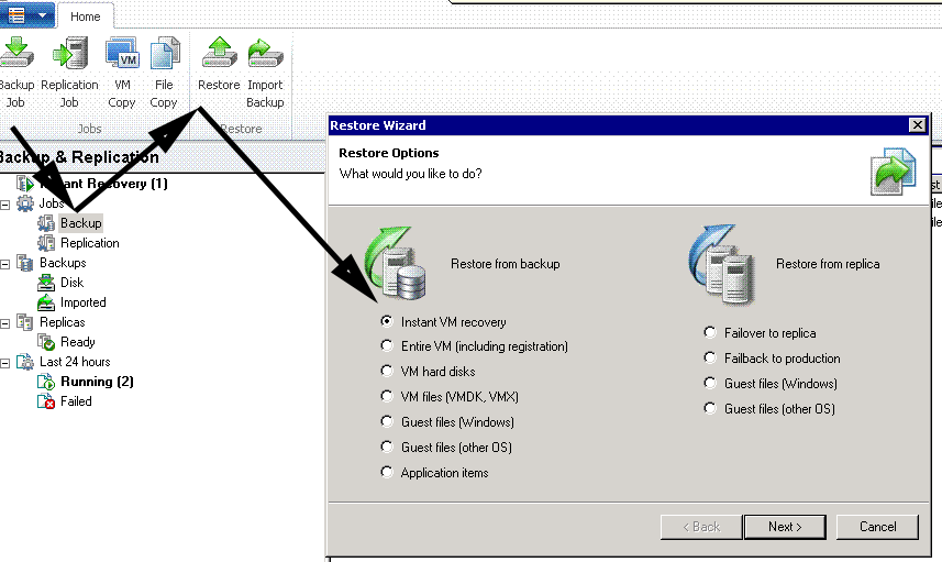 veeam instant recovery guide