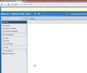 configure vshpere 55 virtual appliance