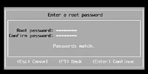 set vmware password