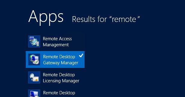 remote desktop 2012 change web port