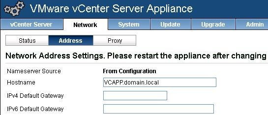 vmware virtual appliance active directory
