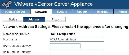 vmware virtual appliance active directory