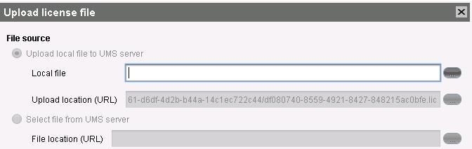 Install Igel License file