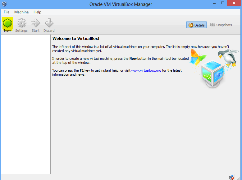 Virtualbox create Windows 10 VM