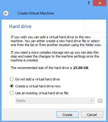 Windows 10 hard drive size