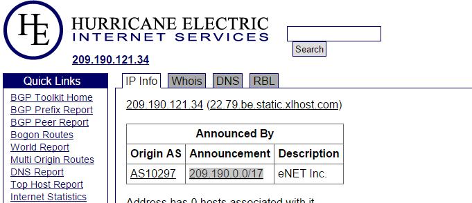 block subnet in nginx
