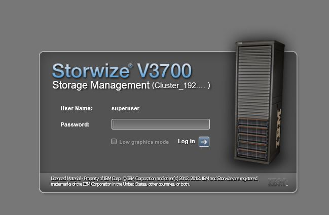 storewize configuration guide