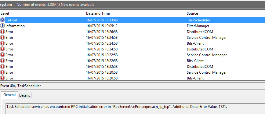 Windows 8 1 Task Scheduler Service Will Not Start