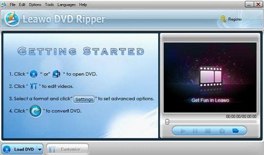 leawoo dvd ripper