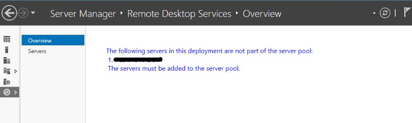 the-servers-must-be-added-to-the-server-pool