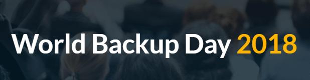 World Backup Day 2018